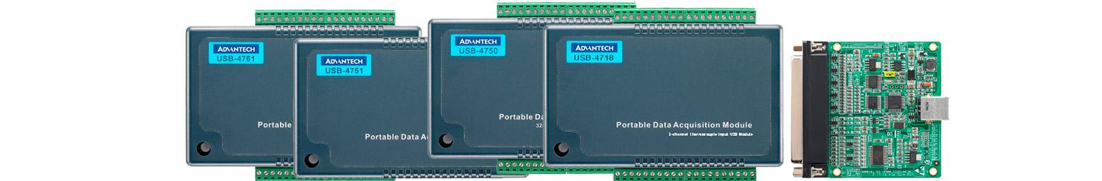 Modulos adquisición datos por USB